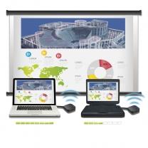 BenQ InstaShow - wystarczy jeden przycisk by zacząć bezprzewodową prezentację Full-HD