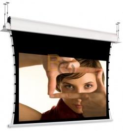Ekran do zabudowy z napinaczami Adeo Tensio Classic Incell 265x149 cm (16:9) + projektor