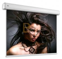 Ekran elektryczny Adeo Elegance 190x107 cm lub 180x101 cm (wersja BE) format 16:9 + projektor