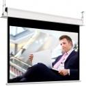 Ekran elektryczny Adeo do zabudowy Incell 220x124 cm (16:9) + projektor