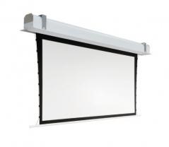 Ekran elektryczny Adeo do zabudowy Max Inceel Tensio 568x241 cm format 21:9
