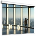 Ekran elektryczny Adeo wielkoformatowy Alumid 450x253 cm format 16:9