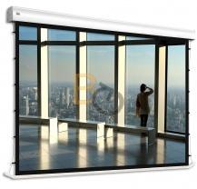 Ekran elektryczny z napinaczami Adeo Tensio Alumid 363x204 cm (16:9)