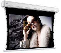Ekran elektryczny z napinaczami Adeo Tensio Elegance 302x170 cm (16:9)