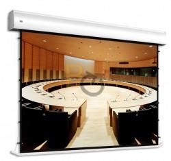 Ekran wielkoformatowy z napinaczami Adeo Tensio Alumax 564x317 cm (16:9)