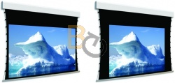 Ekran z napinaczami Adeo Tensio Classic Biformat 225 cm