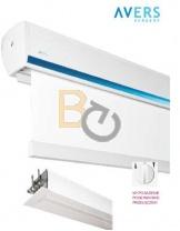 Ekrany elektryczne Avers Stratus 2 - elegancja i wygoda użytkowania