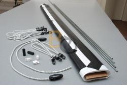 Powierzchnia projekcyjna szybkiego montażu ADEO 495x278 cm (16:9)